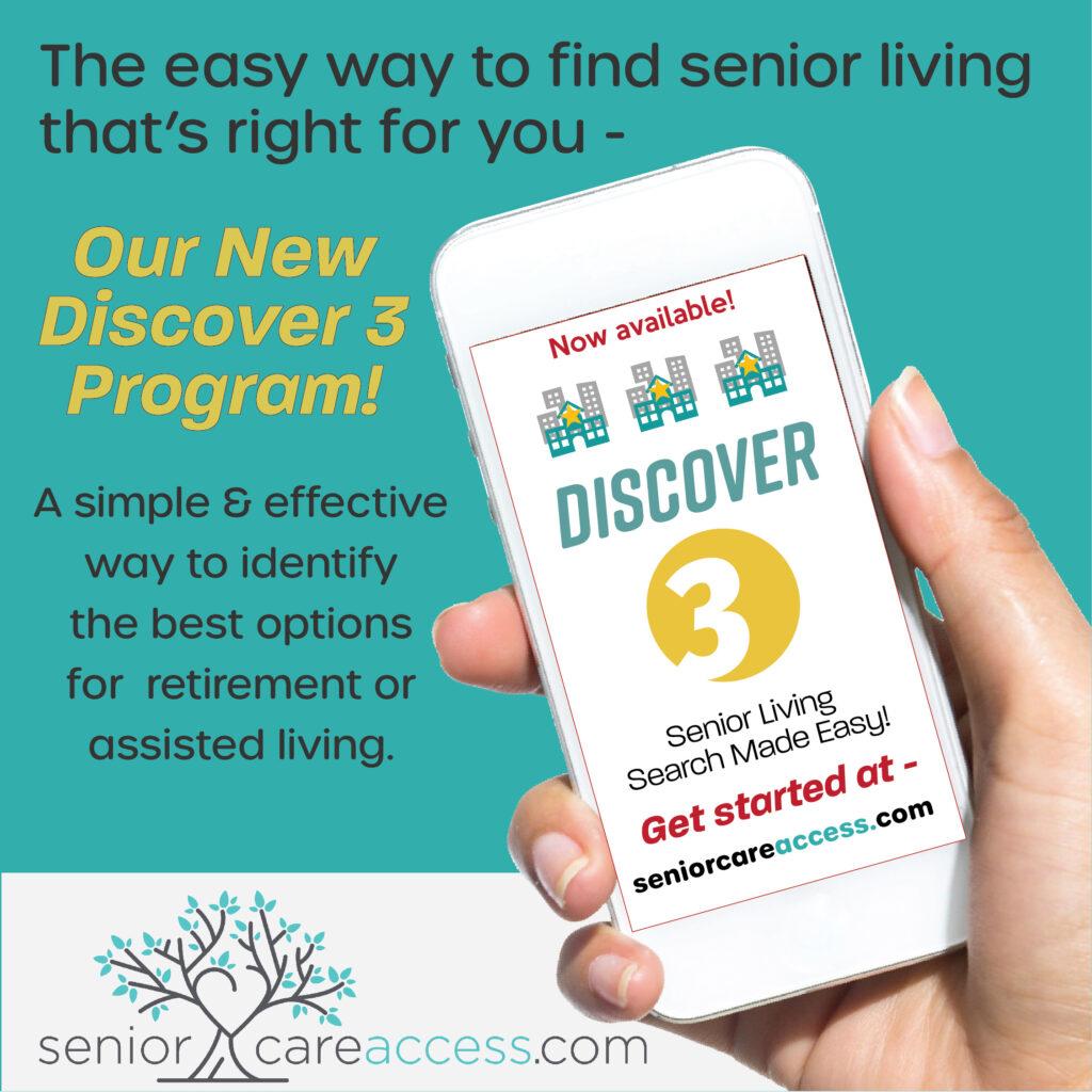 Discover 3 senior living residences