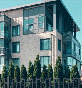 modern senior housing building