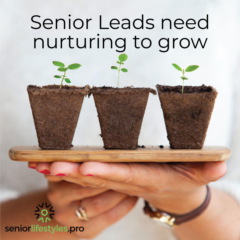 grow senior leads plants